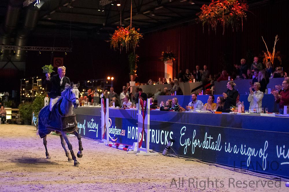 Dennis van den Brink - Aonia Domain<br /> Jumping Zwolle 2018<br /> © DigiShots