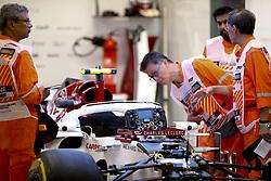 September 13, 2018 - Singapore, Singapore - Motorsports: FIA Formula One World Championship 2018, Grand Prix of Singapore, .#16 Charles Leclerc (MCO, Alfa Romeo Sauber F1 Team) (Credit Image: © Hoch Zwei via ZUMA Wire)