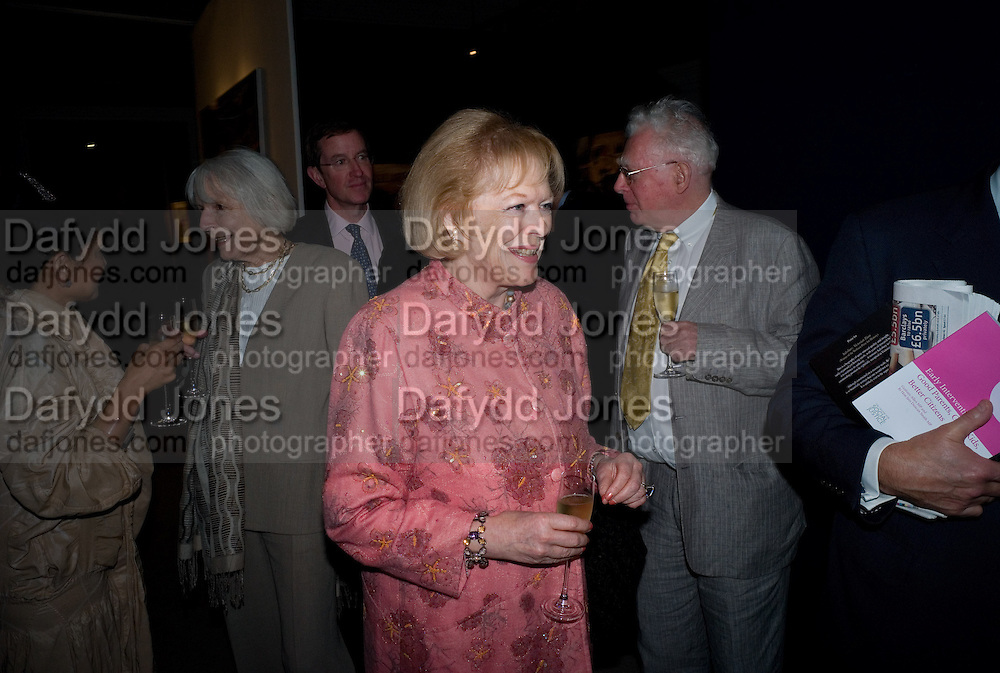 LADY ANTONIA PINTER, Master and Commanders by Andrew Roberts book launch. Sotheby's Bond Street . London. 13 October 2008 *** Local Caption *** -DO NOT ARCHIVE -Copyright Photograph by Dafydd Jones. 248 Clapham Rd. London SW9 0PZ. Tel 0207 820 0771. www.dafjones.com