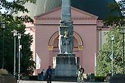 Runde Kirche St. Ludwig und Alice-Denkmal, Darmstadt, Hessen, Deutschland | Round Church St. Ludwig, Darmstadt, Hesse, Germany