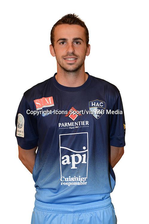 Alexandre BONNET - 04.10.2013 - Photo Officielle - Le Havre -<br /> Photo : Icon Sport