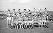 All Ireland Senior Football Championship Final, Kerry v Down, 22.09.1968, 09.22.1968, 22nd September 1968, Down 2-12 Kerry 1-13, Referee M Loftus (Mayo).Captain J Lennon,.The Kerry Team ,.Back row (from left) Eamon O'Donoghhue, Sean Burrows, Mick Morris, Mick O'Dwyer, Johnny Culloty, Paud O'Donoghue, D J Crowley, Mick Fleming. Front row (from left) Seamus Murphy, Mick O'Connell, Tom Prendergast, Pat Griffin (capt), Denis O'Sullivan, Brendan Lynch, Donie O'Sullivan,