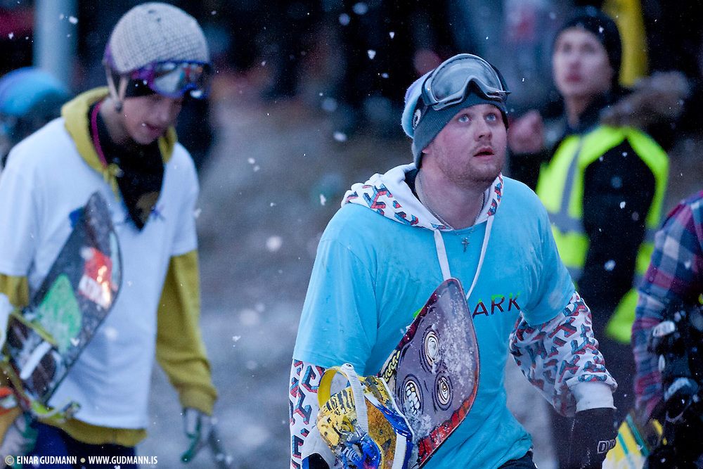Ak-Extreme is a snowboard event held once a year in Akureyri - Iceland.