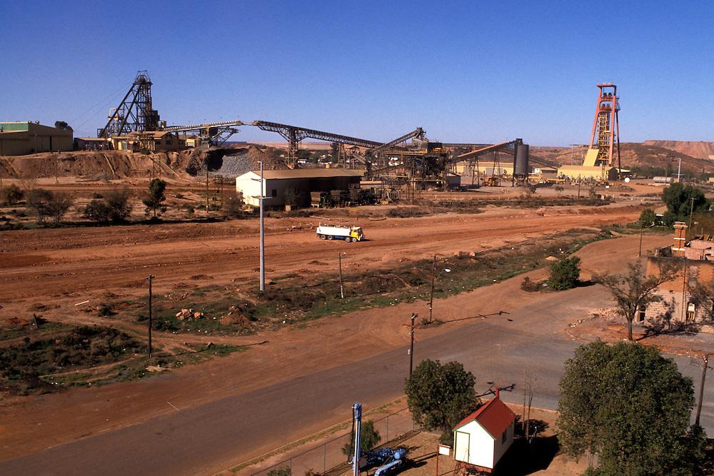 Gold mine in the West Australian town of Kalgoorlie.