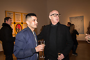 BAL KALIRAI, NEIL TENNANT, The George Michael Collection drinks.  Christie's, King St. London, 12 March 2019