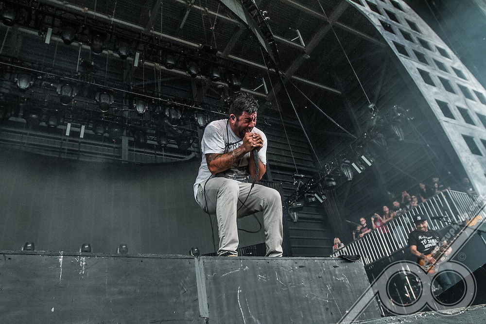 The DEFTONES performing at the MidFlorida Credit Union Amphitheater on August 13th, 2015.