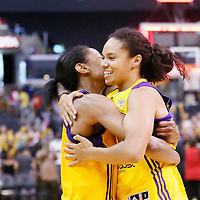 03 August 2014:  during the Los Angeles Sparks 70-69 victory over the Connecticut Sun, at the Staples Center, Los Angeles, California, USA.