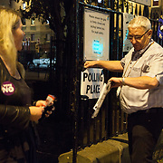 It is ten o'clock and the referendum is finished. <br />
