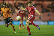Tomáš Kalas (on loan from Chelsea) (Middlesbrough) during the Sky Bet Championship match between Middlesbrough and Wolverhampton Wanderers at the Riverside Stadium, Middlesbrough, England on 4 March 2016. Photo by Mark P Doherty.