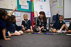 2012 Judith Watkins, Chaplaincy Team, working with prep students