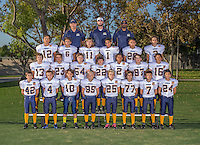 16 September 2015: Irvine Chargers<br /> Team<br /> A/B
