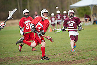 Lakes Region Lacrosse versus Generals U13 boys April 22, 2012.