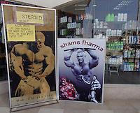Reklameplakater for Steroider og Viagra, Sharm-el-Sheik