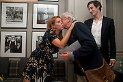 PRINCESS BEATRICE;NICKY HASLAM;  ANDRE DE HAES, Diana Donovan, Olga Polizzi, Stuart Johnson host a cocktail reception to celebrate the publication of a Monograph of the Donovan Bar Photographs in the Donovan Bar at Brown's Hotel. Albermarle St. London. 8 September 2009.