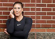 CHATTANOOGA, TN - AUGUST 19:  Goalie Hope Solo #1 of the United States Costa Rica talks before the friendly match against Costa Rica at Finley Stadium on August 19, 2015 in Chattanooga, Tennessee.  (Photo by Mike Zarrilli/Getty Images)