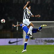 © Filippo Alfero<br /> Juventus vs Sampdoria - Serie A 2009 / 2010<br /> Torino - 28/10/2009<br /> sport calcio<br /> Nella foto: Felipe Melo and Fernando Tissone