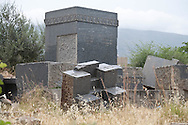 Algeria, Annaba . the destroyed jewish cemetery of the former city of Bone   / Algerie Annaba.ex Bone  le cimetière juif   detruit