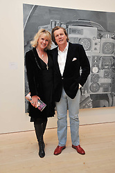 THEO & LOUISE FENNELL at a private view of Confessions of Dangerous Minds - Contemporary Art From Turkey, hosted by Phillips de Pury at The Saatchi Gallery, Duke of York Square, London on 18th April 2011.