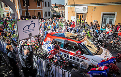 Start during the UCI Class 1.2 professional race 4th Grand Prix Izola, on February 26, 2017 in Izola / Isola, Slovenia. Photo by Vid Ponikvar / Sportida