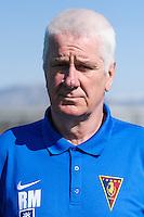 FOOTBALL POLISH EKSTRAKLASA SEASON 2014/2015<br /> Pogon Szczecin<br /> N/Z RYSZARD MIZAK