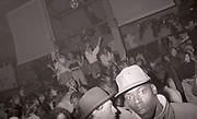 Ravers, 'Hot' club night, Hacienda club, Manchester, circa 1989