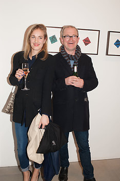 POLLY MORGAN; HARRY ENFIELD, This is not an Exit. Mat Collishaw. Blain Southern. Hanover Sq. London. 13 February 2013.