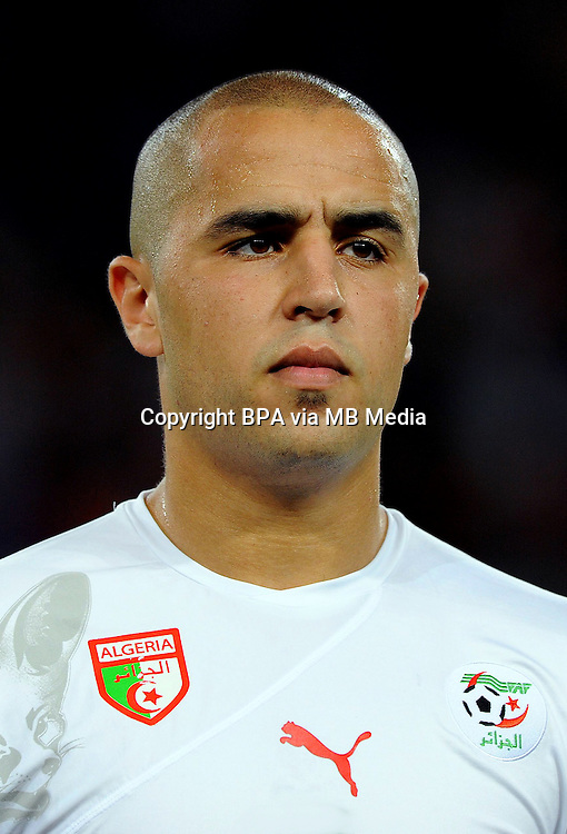 Football Fifa Brazil 2014 World Cup / <br /> Algeria National Team - <br /> Madjid BOUGHERRA of Algeria