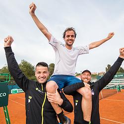 20180408: SLO, Tennis - David Cup Slovenia vs Turkey, Day 2