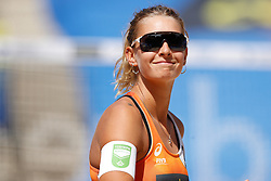 20190628 DEU: World Champs Hamburg 2019: Hamburg<br /> Joy Stubbe (NED,2), Marleen van Iersel (NED,1), Kerri Walsh Jennings (USA,1), Brooke Sweat (USA,2)<br /> ©2019-FotoHoogendoorn.nl / Pim Waslander