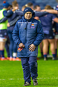 Edinburgh Rugby head coach, Richard Cockerill before the Guinness Pro 14 2019_20 match between Edinburgh Rugby and Connacht Rugby at BT Murrayfield Stadium, Edinburgh, Scotland on 21 February 2020.