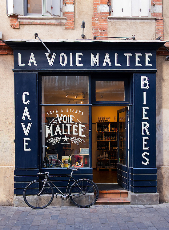 The Malt Path, a beer celler in Toulouse.