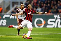 Milano - 26.11.2017 -   Milan-Torino - Serie A 14a giornata   - nella foto:  Nikola Kalinic