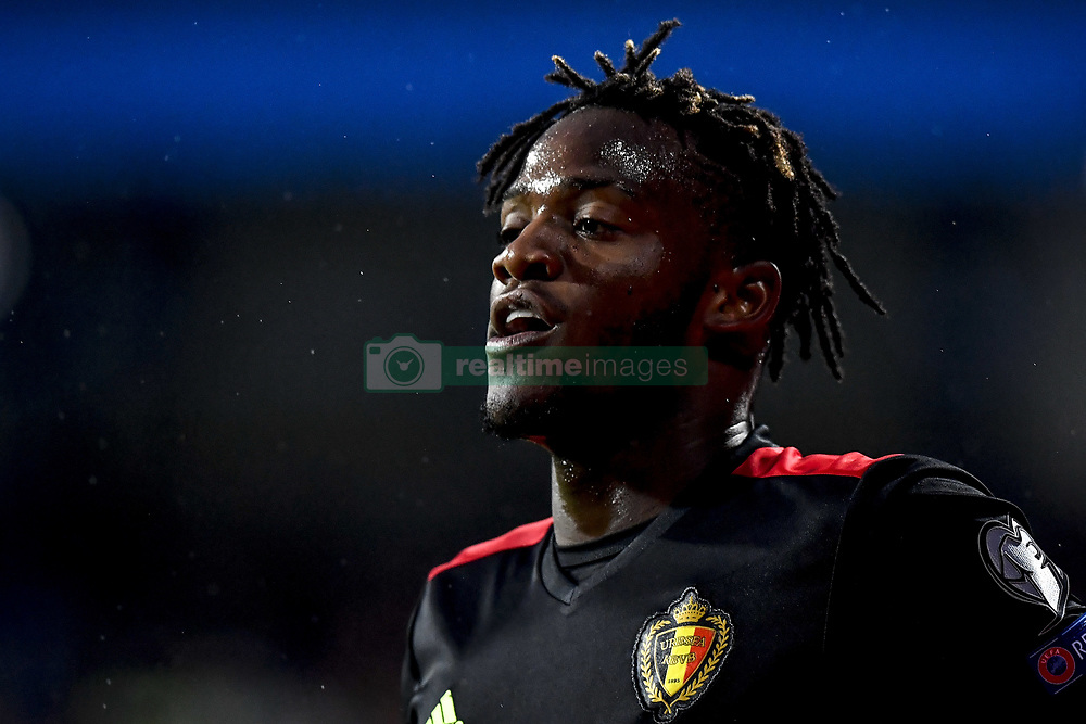 October 7, 2017 - Sarajevo, BOSNIA AND HERZEGOVINA - Belgium's Michy Batshuayi pictured during a soccer game between Bosnia and Herzegovina and Belgian national team Red Devils, in Sarajevo, Bosnia and Herzegovina, Saturday 07 October 2017, game 9 in Group H of the qualifications for the 2018 World Cup. BELGA PHOTO DIRK WAEM (Credit Image: © Dirk Waem/Belga via ZUMA Press)
