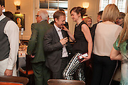 GEORDIE GREIG; RUTH WILSON, Vanity Fair Lunch hosted by Graydon Carter. 34 Grosvenor Sq. London. 14 May 2013