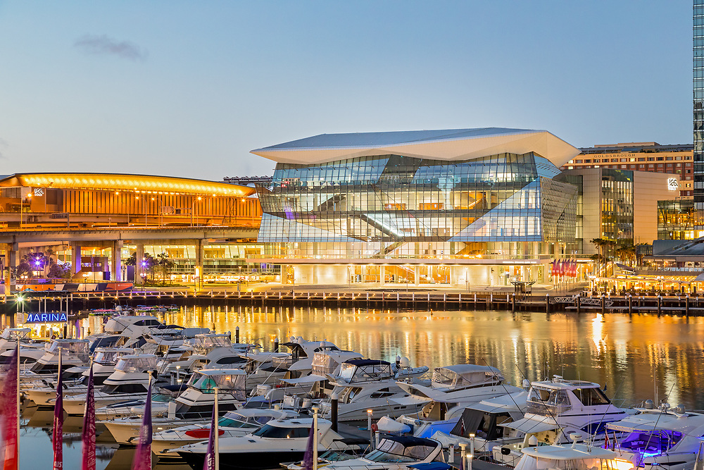 Sydney ICC dawn