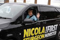 Nicola-Sturgeon, South Queensferry, 28-4-2016<br /> <br /> (c) David Wardle | Edinburgh Elite media
