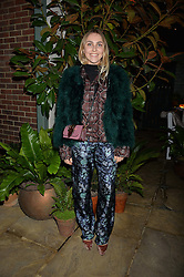 The Ivy Chelsea Garden's Guy Fawkes Party & Launch of The Winter Garden was held on 5th November 2016.<br /> Picture shows:- BECKY TONG.