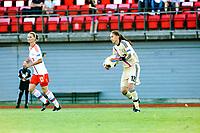 Fotball , Landskamp , Vennskapskamp , Treningskamp landslag kvinner ,  Fredag 5. juli 2013 , Melløs Stadion , Moss<br /> Norge - Russland<br /> Yulia Grichenko (right) - Russia , Russland <br /> Alla Sidorovskaya (Left) - Russia , Russland <br /> Foto: Sjur Stølen