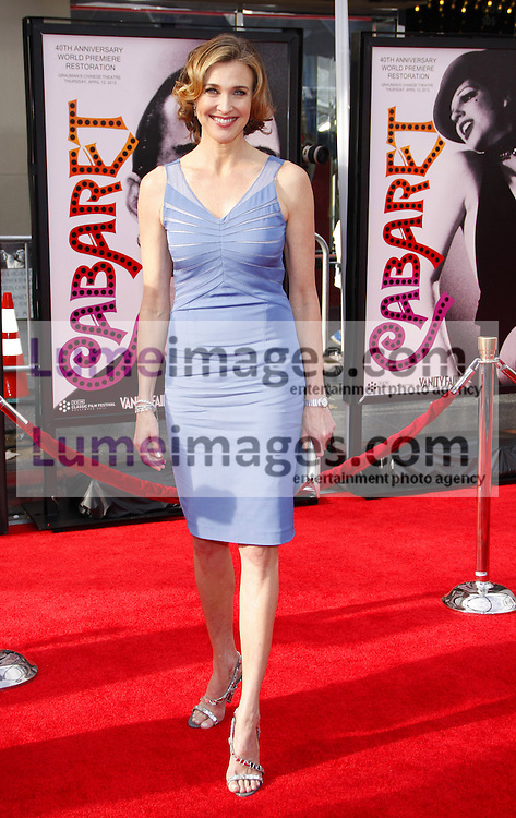 Brenda Strong at the 2012 TCM Classic Film Festival Gala Screening of 'Cabaret' held at the Grauman's Chinese Theater in Hollywood on April 12, 2012.