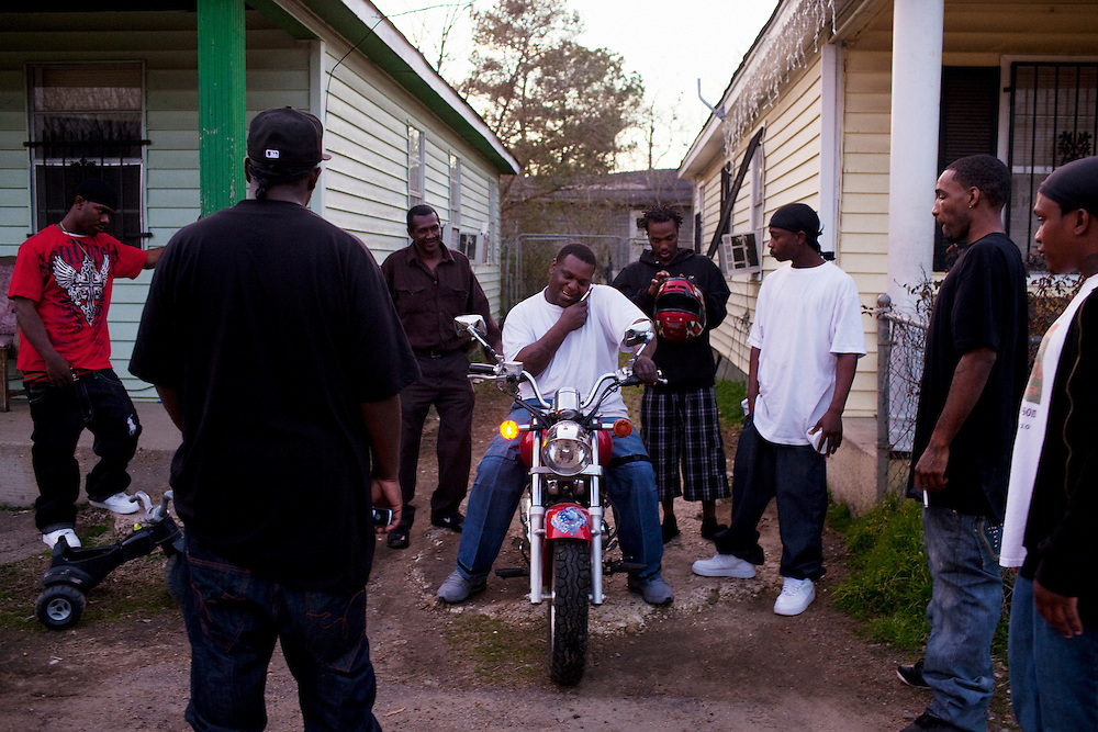 in the Baptist Town neighborhood of Greenwood, Mississippi on February 17, 2011.