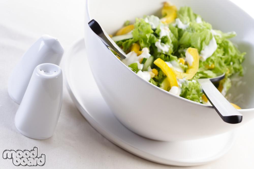 Photo of spring salad