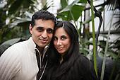 Engagement Photos - Philadelphia - Shilpa & Vijay - Philadelphia Horticultural Center