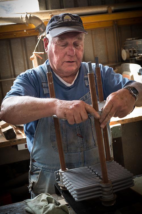 Gary Baker, Volunteer Machinist | Western Railway Museum | April 16, 2014