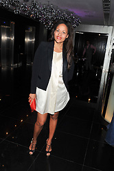 RACHEL BARRETT at W London - Leicester Square for the Liberatum Cultural Honour in Spice Market for John Hurt, CBE in association with artist Svetlana K-Lié on 10th April 2013.