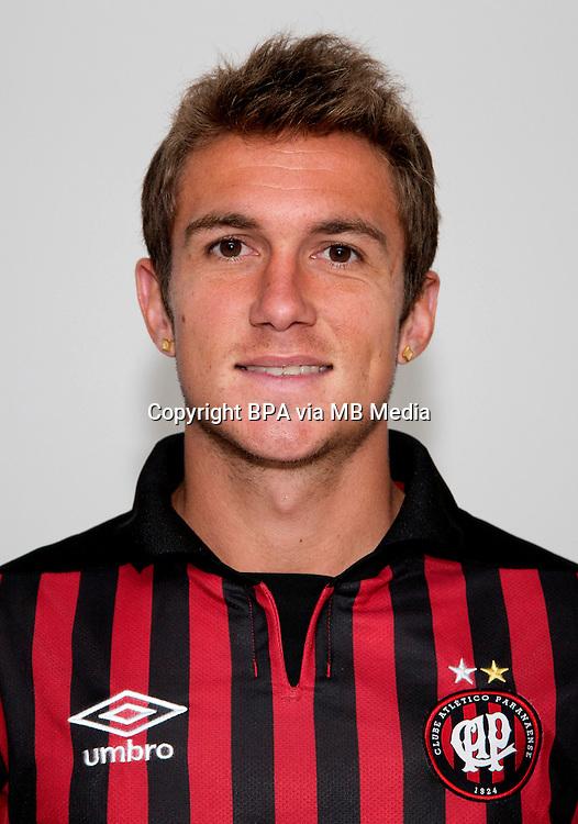 """Brazilian Football League Serie A /<br /> ( Clube Atletico Paranaense ) -<br /> Renato Escobar Baruffi """" Bady """""""