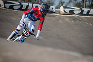 #134 (SMITH Jessie) NZL at Round 10 of the 2019 UCI BMX Supercross World Cup in Santiago del Estero, Argentina