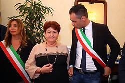 CRISTAN BERTARELLI<br /> MINISTRO TERESA BELLANOVA IN PREFETTURA A FERRARA