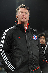 09.03.2010, Stadio Artemio Franchi, Florenz, ITA, UEFA Championsleague, AC Florenz vs Bayern Muenchen, im Bild Louis Van Gaal., EXPA Pictures © 2010, PhotoCredit: EXPA/ InsideFoto/ Andrea Staccioli / for Slovenia SPORTIDA PHOTO AGENCY.