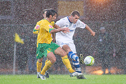 NORWICH, WALES - Saturday, November 14, 2009: Tranmere Rovers' John Welsh in action against Norwich City during the League One match at Carrow Road. (Pic by David Rawcliffe/Propaganda)