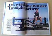 David Zentz for 11Fruende, issue #151. Jurgen Klinsmann